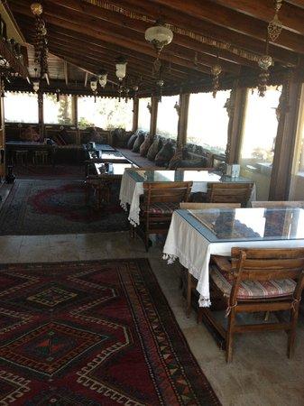 Hotel Bella: Rooftop Terrace Guest Lounge & Restaurant