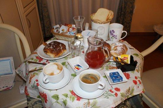 บีแอนด์บีวาติกันทาวน์: Завтрак