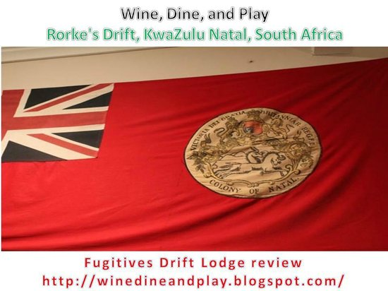 Fugitive's Drift Lodge and Guest House : dining room