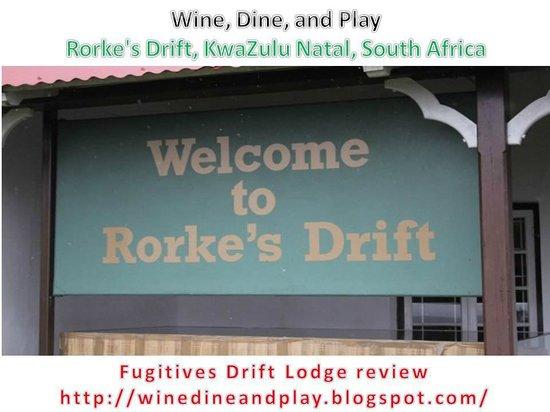 Fugitive's Drift Lodge and Guest House : Rorke's Drift Battlefield