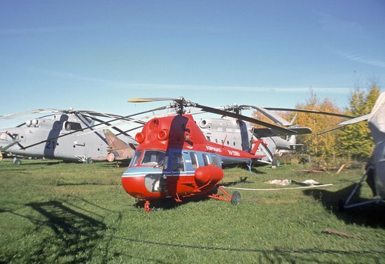 Moscow Free Tour: MiL Helicopter