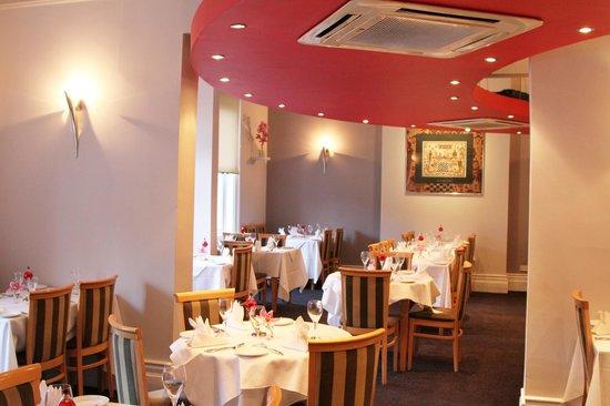 Anupam: Dining area
