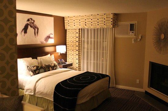 Le Montrose Suite Hotel: Cama da suite