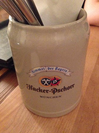 Hacker-Pschorr Hamburg: Cutlery holder