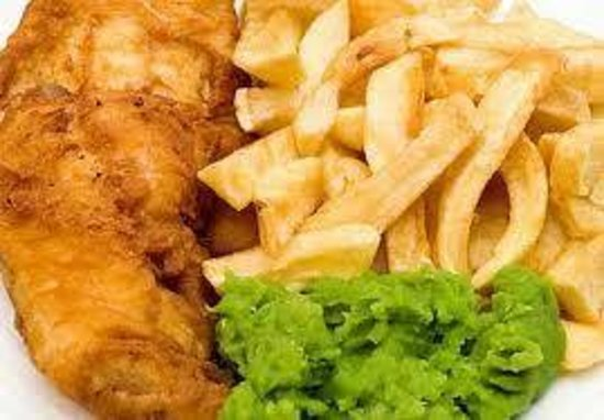 St James Tavern: Now serving fresh Cod in batter fresh chips and homesoaked mushy peas