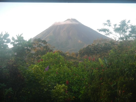 Volcano Lodge & Springs: Arenal from our room