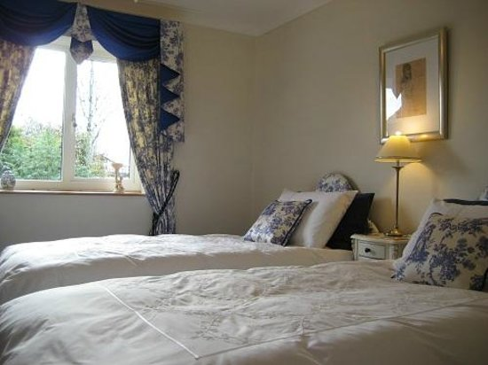 West Point B&B: Shabby chic twin room