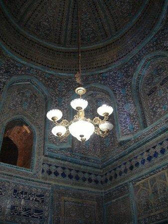 Pakhlavan Makhmud Mausoleum: interno del mausoleo di Pakhlavan Makhmud