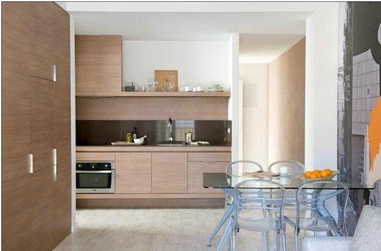 Eric Vokel Boutique Apartments - BCN Suites: Cocina y comedor