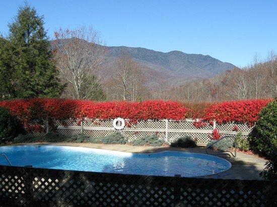Clear Creek Guest Ranch: Mountain views
