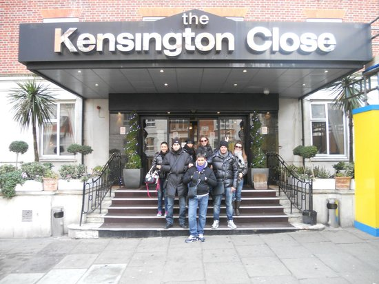 Holiday Inn London - Kensington : ingresso HOTEL