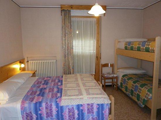 Hotel Zebru': camera