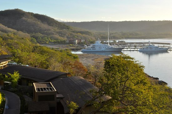 Andaz Peninsula Papagayo Resort : view of marina