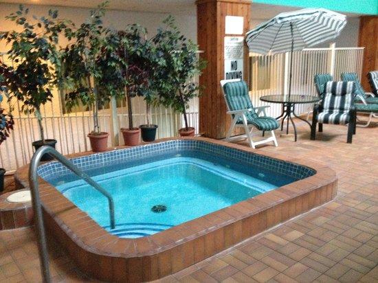 Canadas Best Value Inn & Suites Parry Sound: Great hot tub