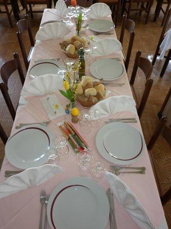Hotel Zebru': sala pranzo