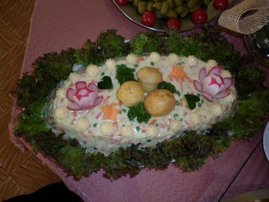 Hotel Zebru': piatto