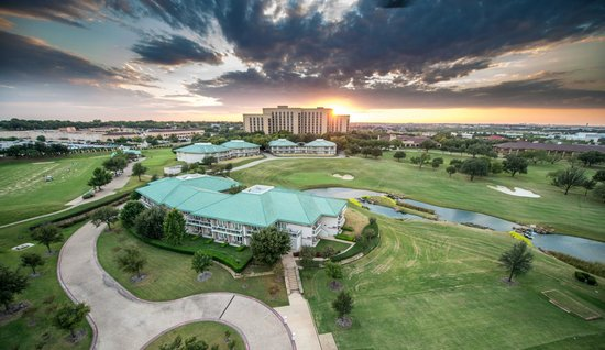 Aerial view of property picture of four seasons resort for Pool show dallas