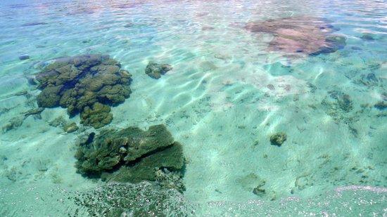 Blue Bay Beach: Le lagon