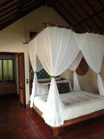 Jeeva Klui Resort: The comfy bed....