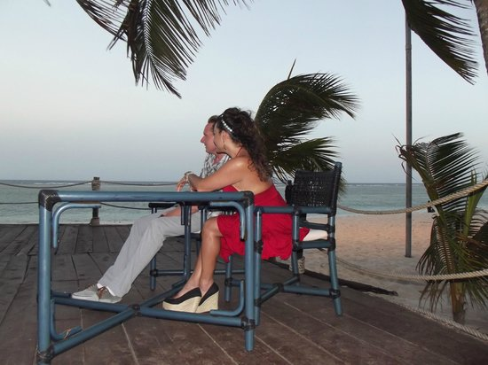 Diani Reef Beach Resort & Spa: early evening breeze with great view