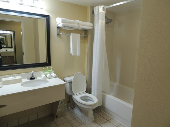 Holiday Inn Express N. Myrtle Beach-Little River: bano