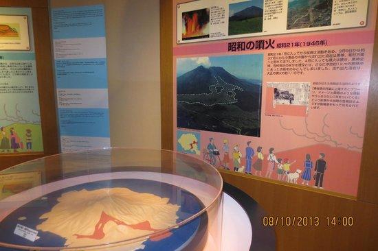 Sakurajima Visitor Center: information on Sakurajima