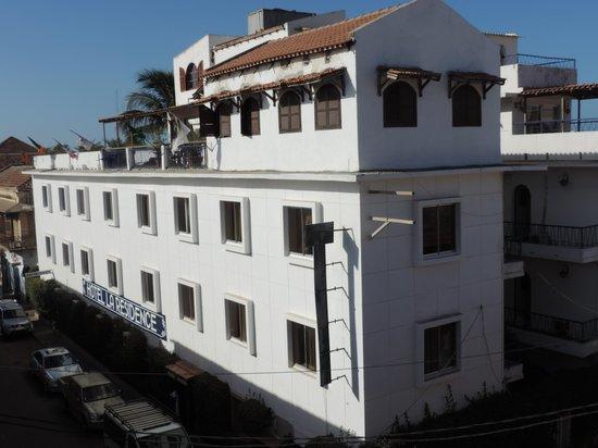 Hotel La Residence: Vue sur l'hôtel