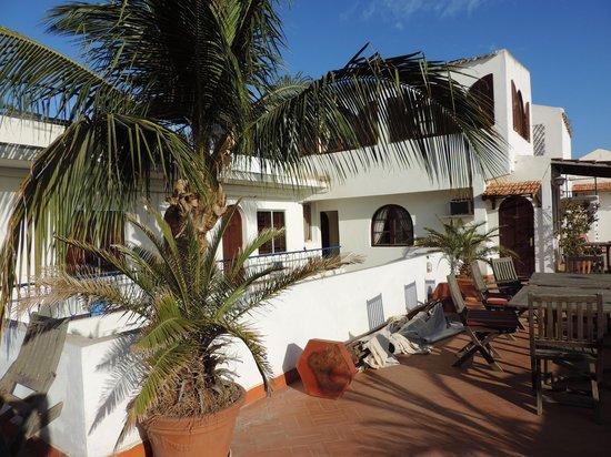 Hotel La Residence : La terrasse