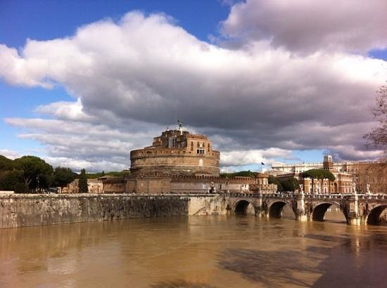 Castillo de Sant'Angelo: simona, castel sant' angelo, feb 2014