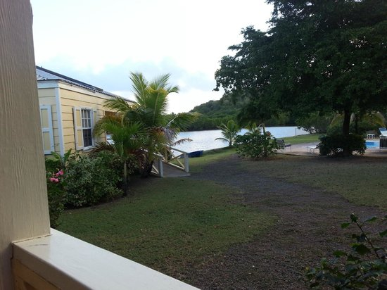 Antigua's Yepton Estate Cottages : View of lagoon from in front of cottage 2