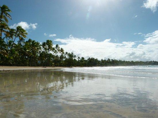 Playa Bonita : la spiaggia uno specchio