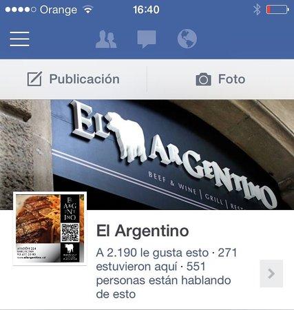 El Argentino: Nuestro Facebook