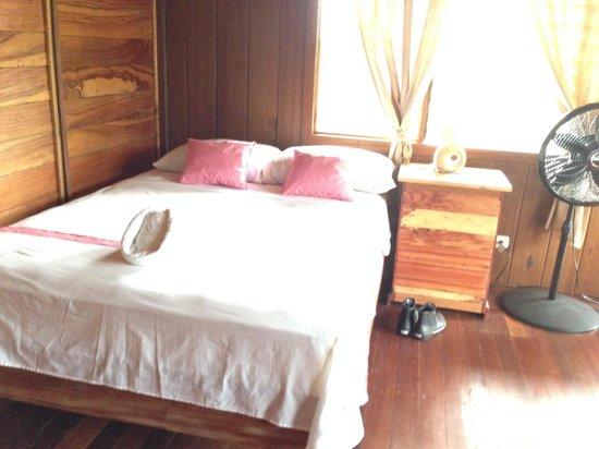 Casa Drake Lodge: Parte de la habitación y el balcón