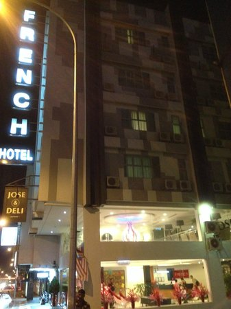 Ipoh French Hotel: Outside of the hotel