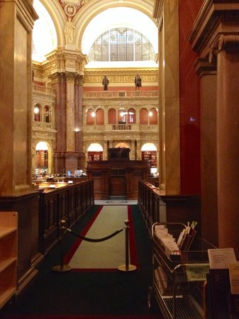Library of Congress: A look from the floor