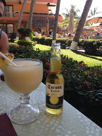 Villa del Palmar Beach Resort & Spa: I recommend the mango margarita!