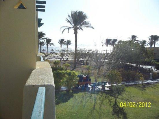 The Bay View Resort Taba Heights : вид на море  с балкона