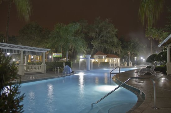 Star Island Resort and Club : Pool at night