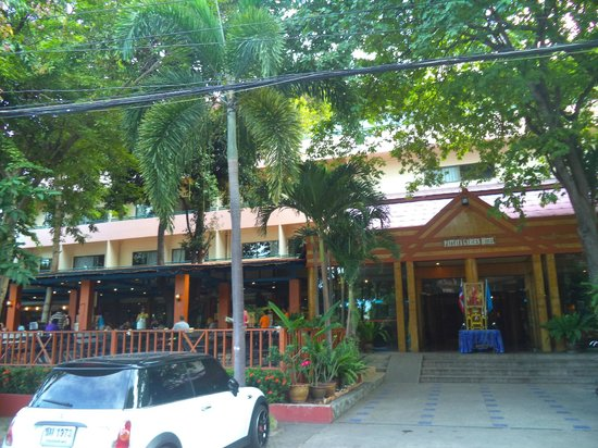 Pattaya Garden Hotel: Hotel view