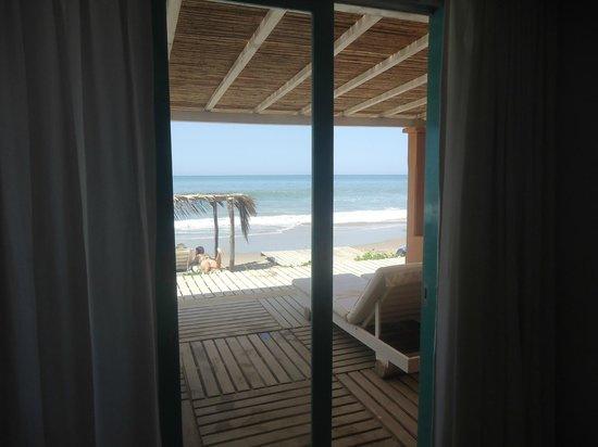 Puerto Palos: Desde la cama se veía esta imagen