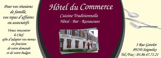 Hotel Du Commerce Seignelay
