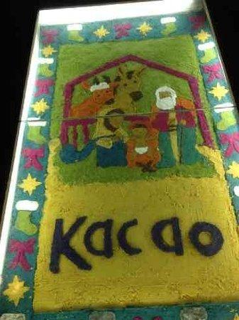 Kacao: Llegando al restaurante