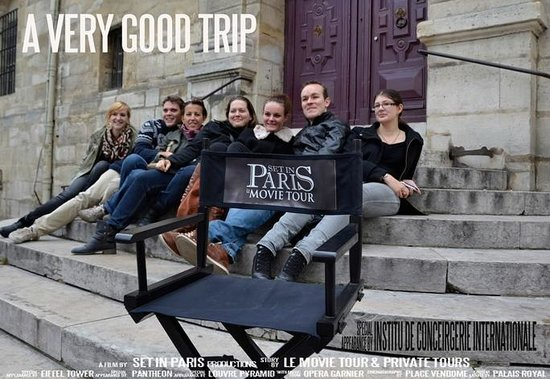 a very good trip photo de set in paris movie tours paris tripadvisor. Black Bedroom Furniture Sets. Home Design Ideas