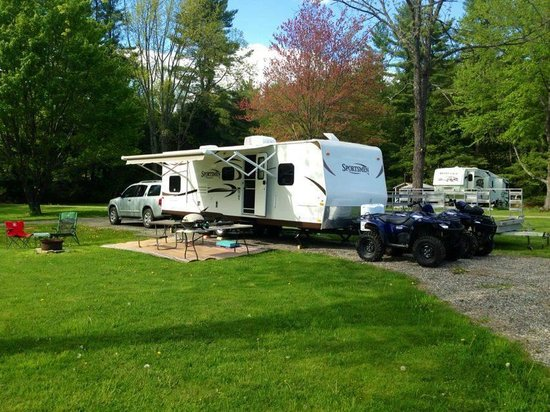 Alfred, ME: We have ATV trails from the Campground that connect to the Ossipee Mountain ATV'ers ATV Club!
