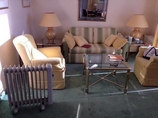 Hotel Bayerischer Hof: kapotte kachel