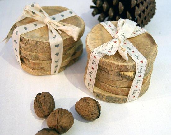 Totem: Posavasos madera de Boj