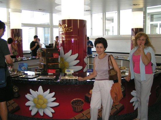 Maison Cailler Chocolaterie  Switzerland