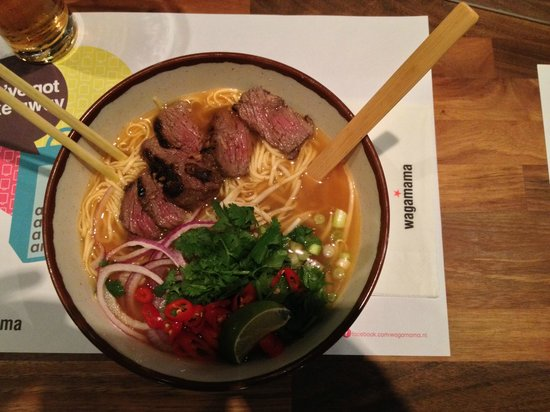Wagamama : The Kobe Beef & Noodle Dishes