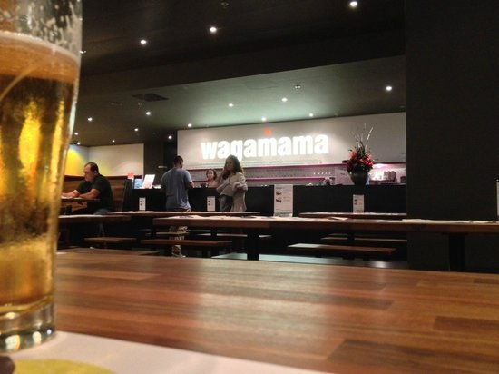 Wagamama : The open wiev kitchen