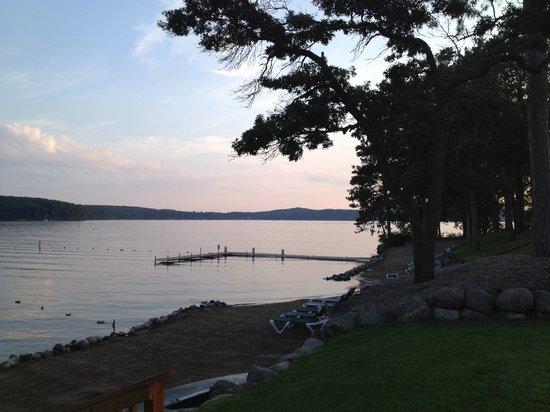 Kavanaugh's Sylvan Lake Resort : A beautiful summer evening!
